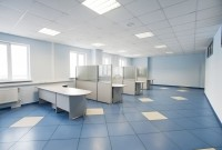 Blue Commercial Flooring