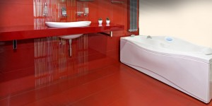 Modern Bathroom Flooring